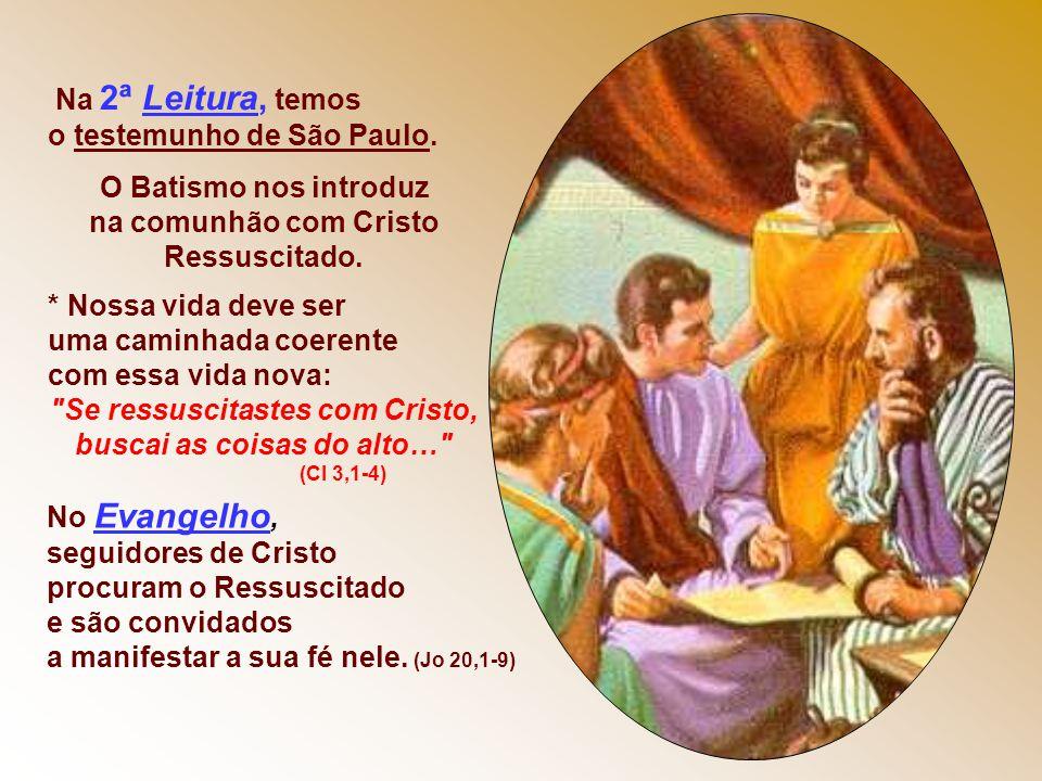 * Pedro começa evocando momentos da vida de Jesus, como