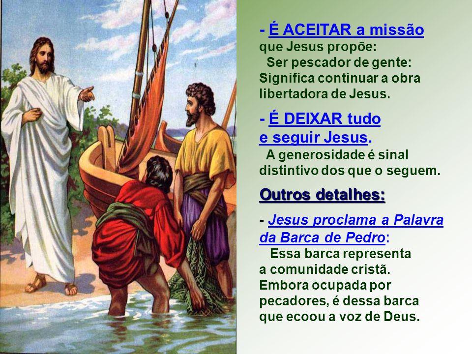 - É ESTAR com Jesus