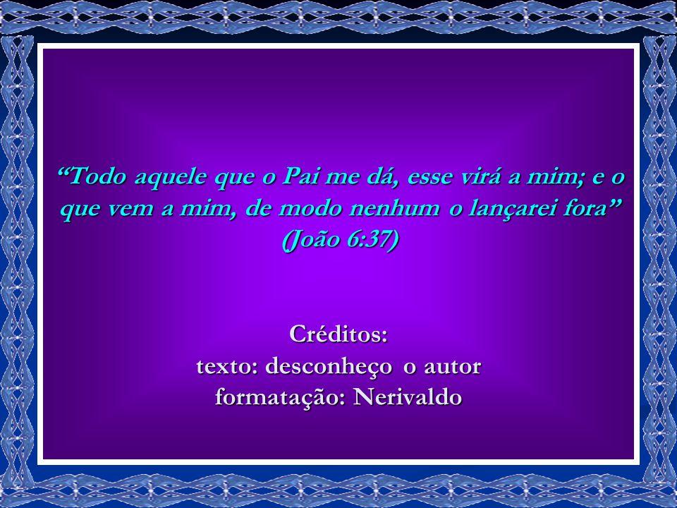 Eu, no tempo... E Cristo, a Eternidade.