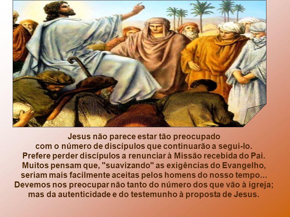 - Você teria a mesma convicção firme de Josué... :