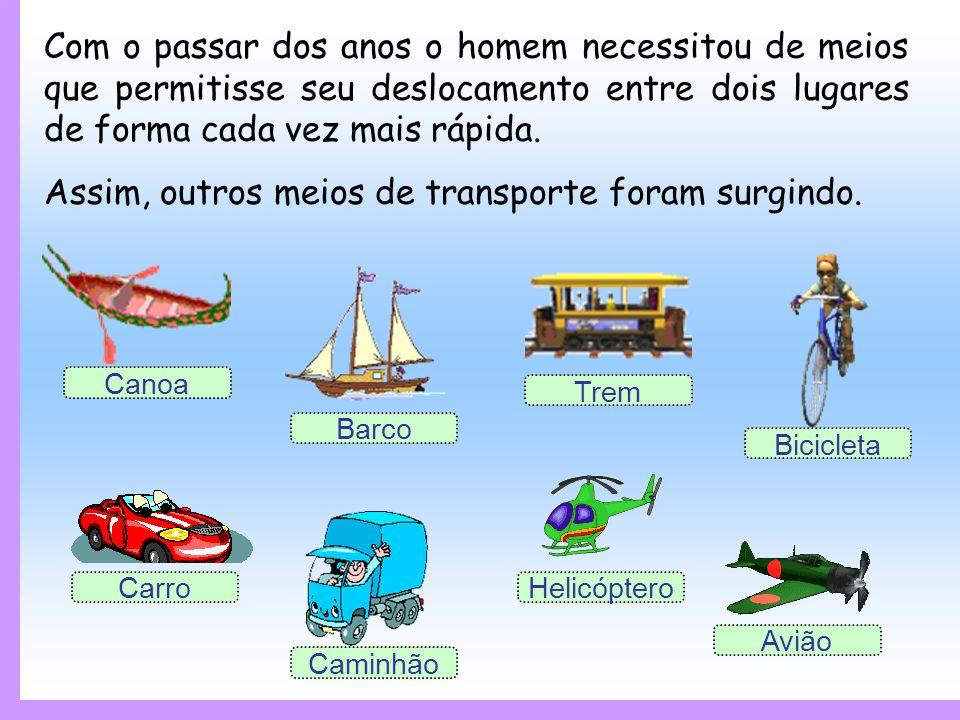 Os meios de transporte permitem a movimentação de pessoas, bens e serviços e podem ser agrupados em quatro classificações: Terrestre Rodoviário Aéreo Terrestre Ferroviário Marítimo