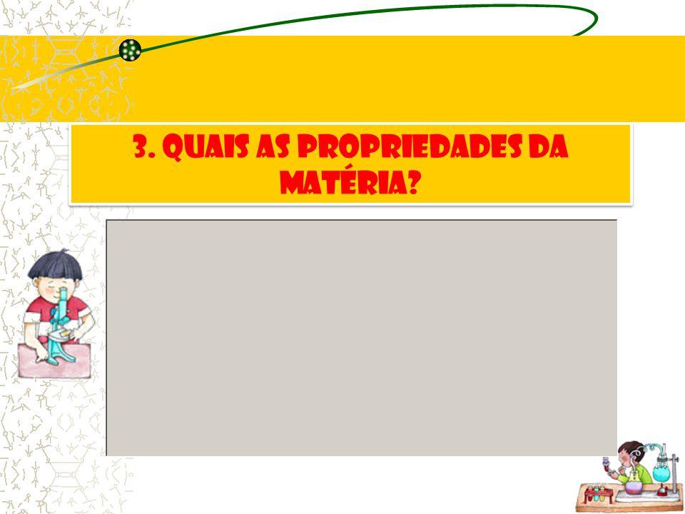 2. Quais os estados físicos da matéria?