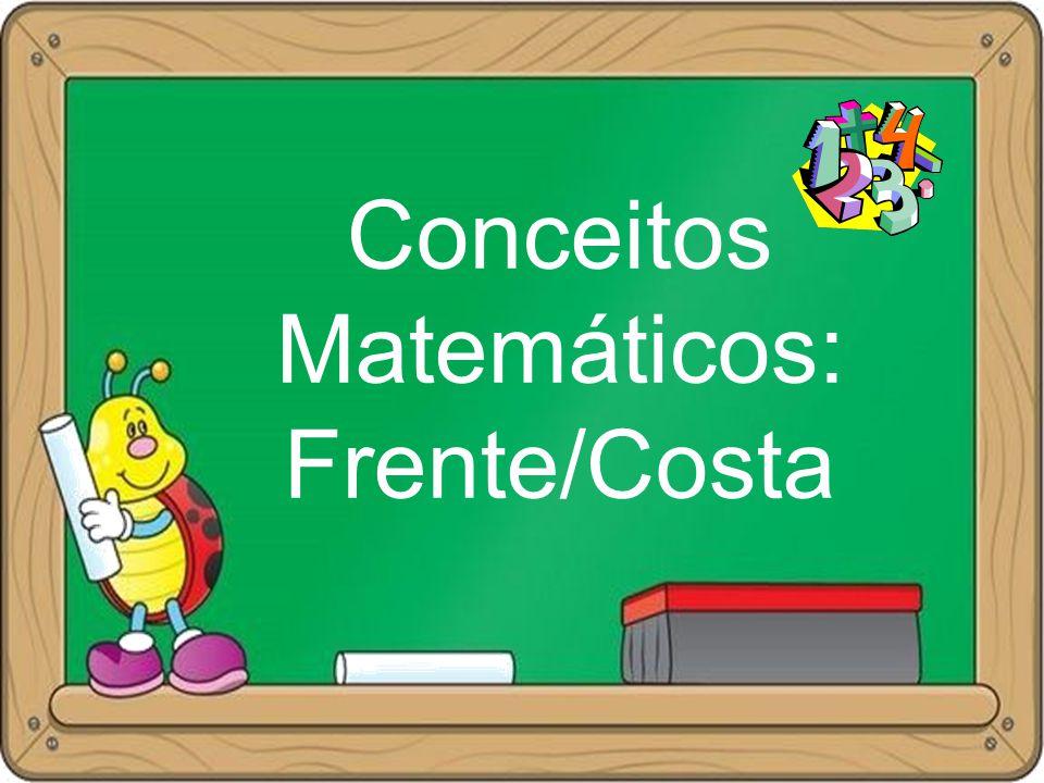 Conceitos Matemáticos: Frente/Costa