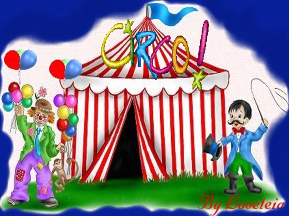 Palhaços, mágicos, malabaristas! Quanta diversão encontramos no circo! Vamos vê o que cada um faz?