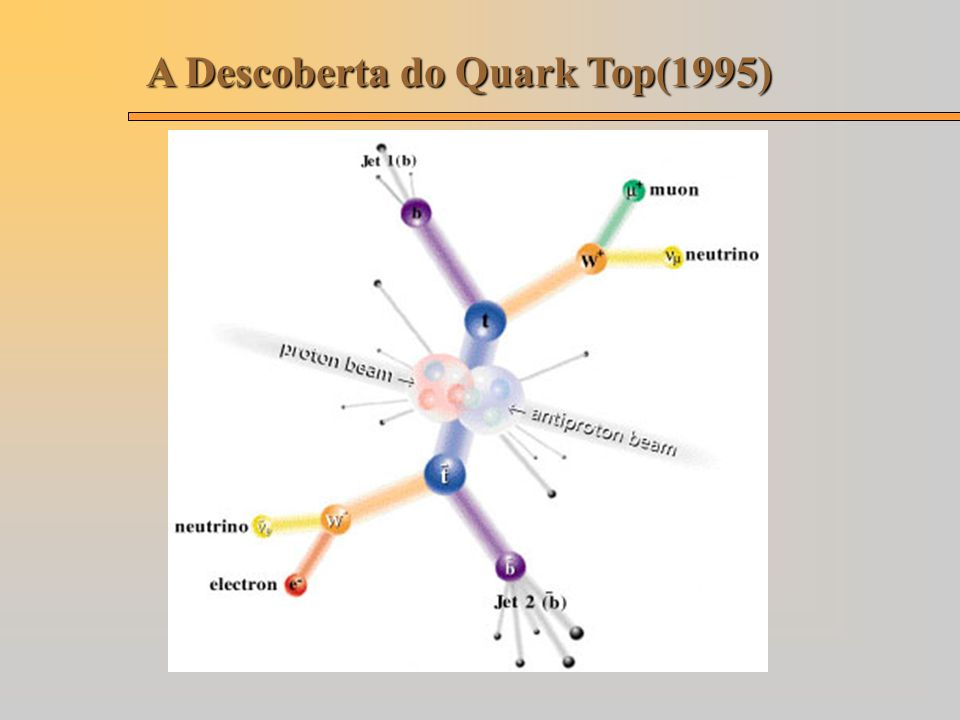 A Descoberta do Quark Top(1995)