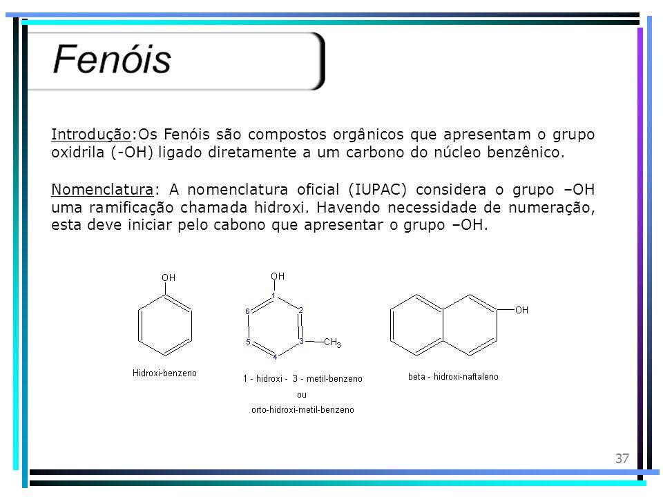 36 a) É um triálcool alifático insaturado b) Apresenta molécula apolar semelhante à da água c) Interage com a água por pontes de hidrogênio d) Apresen