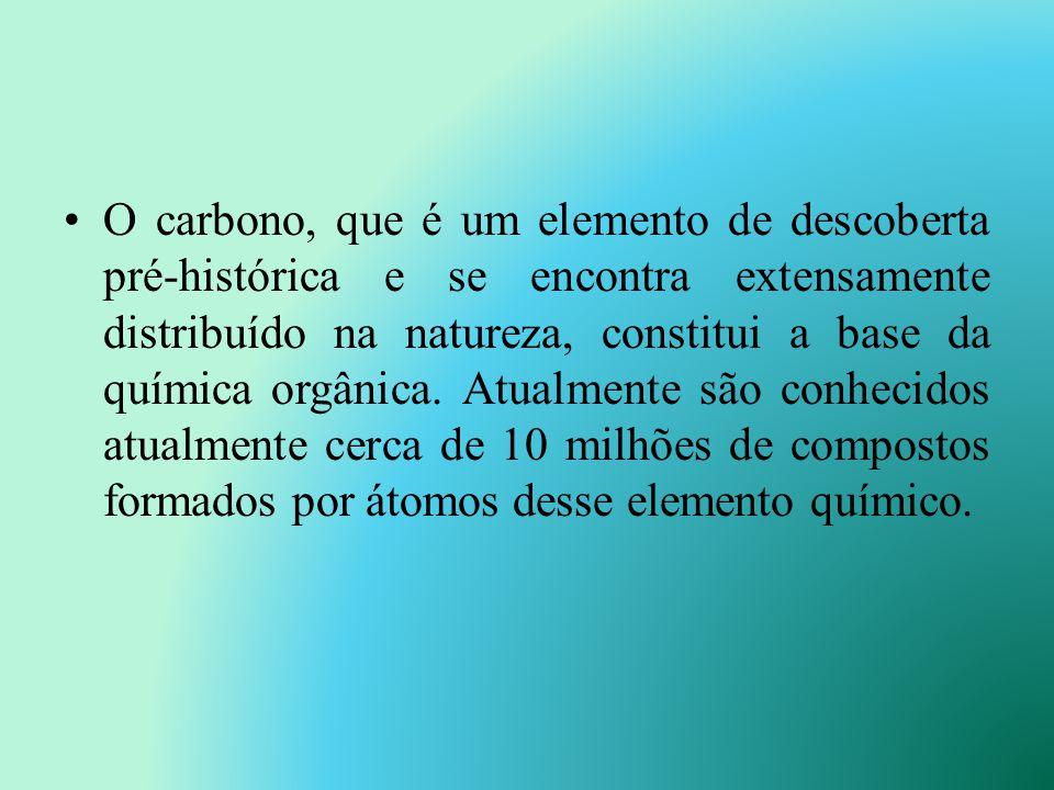 Conceito atual: É um ramo da Química que estuda os compostos do elemento carbono, denominados compostos orgânicos. Química orgânica