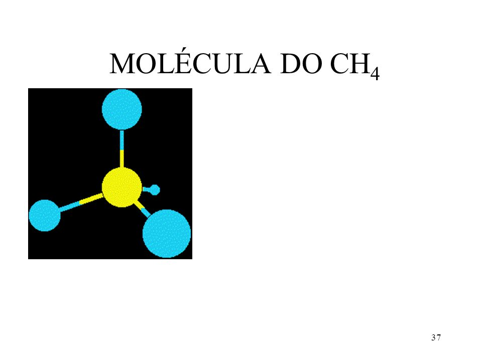 37 MOLÉCULA DO CH 4