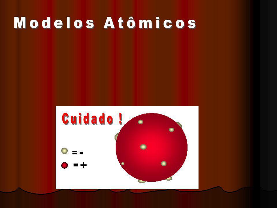 No modelo atômico atual: Os elétrons apresentam caráter corpuscular e de onda, simultaneamente; A concepção teórica de uma órbita definida para um elétron é inaceitável; O elétron pode ser encontrado na eletrosfera em uma região chamada orbital.