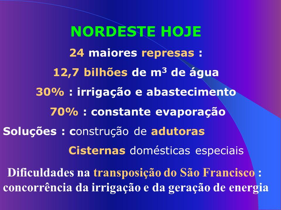 Água e Saúde OMS : 5 milhões de pessoas morrem por ano de doenças transmitidas pela água. IBGE : 58,4% dos distritos do País não coletam esgotos. IBGE