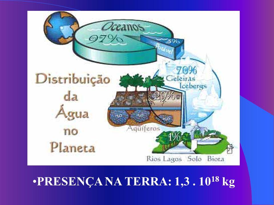 Declaração Universal dos Direitos da Água ONU Março/1992 A água faz parte do patrimônio do planeta....