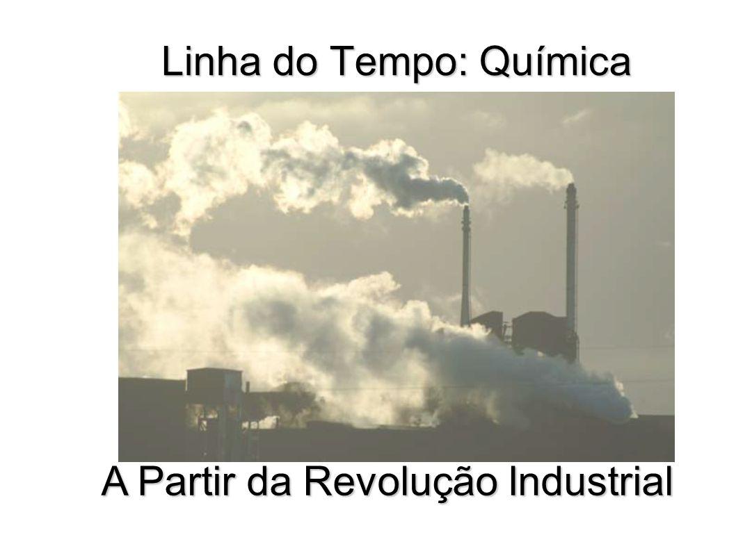 Linha do Tempo: Química A Partir da Revolução Industrial