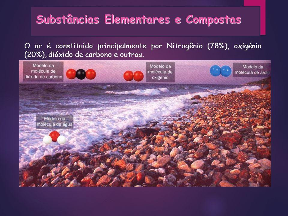 Nitrogênio: esta substância à temperatura ambiente, é um gás incolor e inodoro.