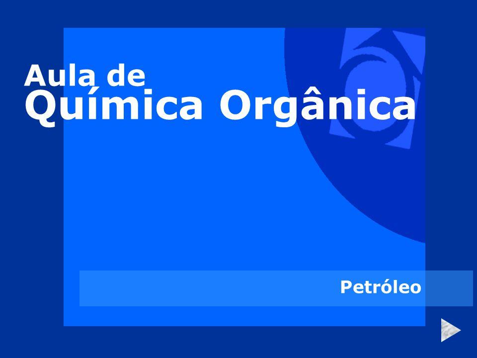 Aula de Química Orgânica Petróleo