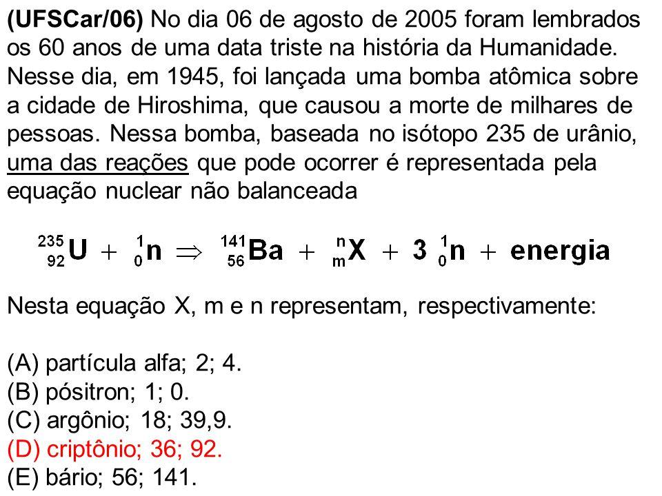 (FUVEST [1F] 07) O isótopo radioativo Cu-64 sofre decaimento, conforme representado: A partir de amostra de 20,0 mg de Cu-64, observa-se que, após 39 horas, formaram-se 17,5 mg de Zn-64.