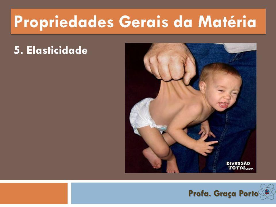 Profa.Graça Porto Propriedades Específicas da Matéria 8.
