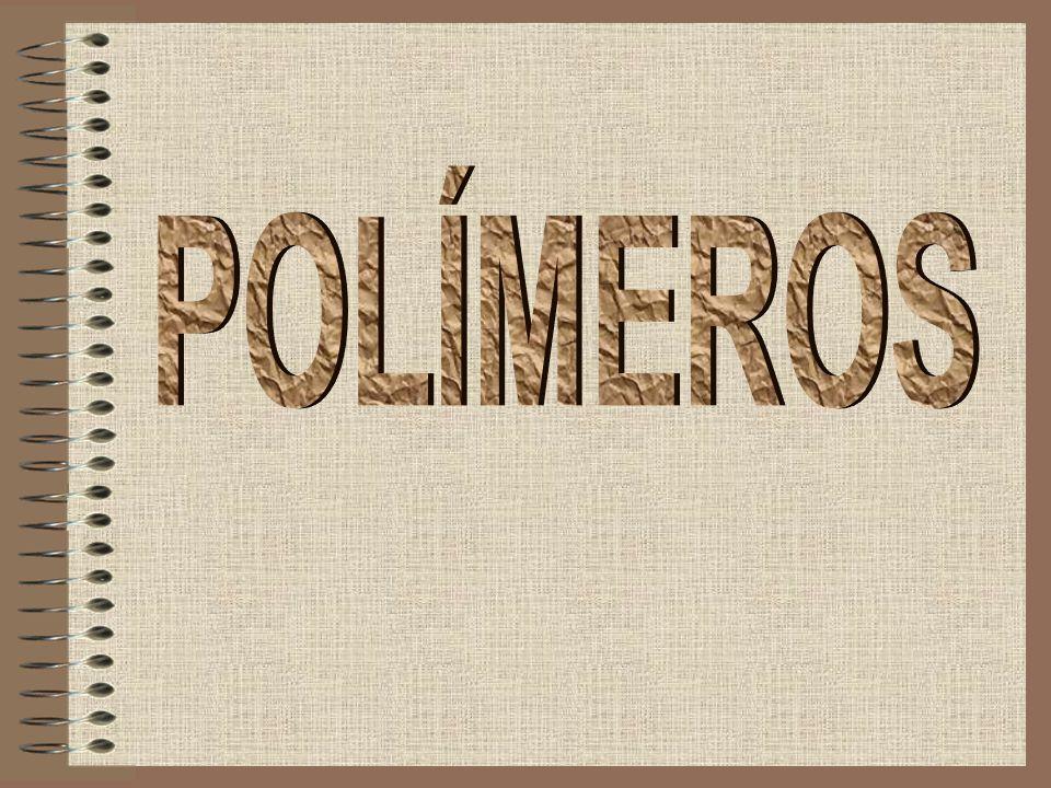 Definição Um polímero é um material orgânico ou inorgânico, natural ou sintético, de alto peso molecular, cuja estrutura molecular consiste na repetição de pequenas unidades, chamadas monómeros.