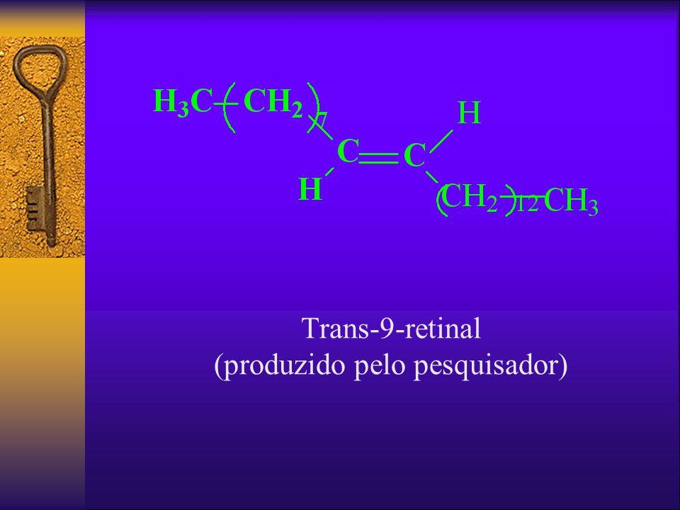 Trans-9-retinal (produzido pelo pesquisador)