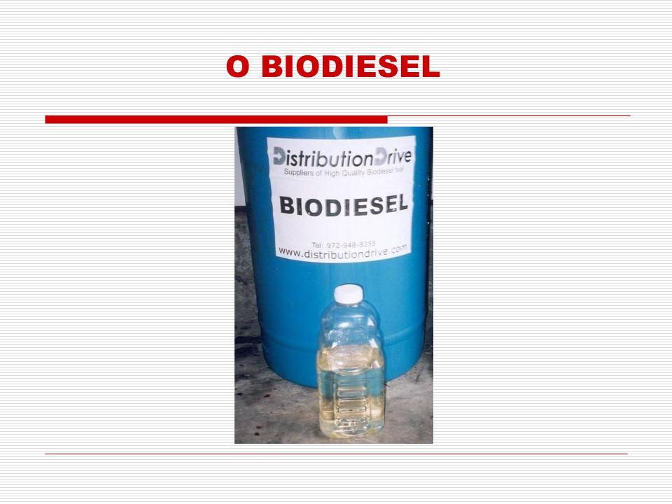 Substituto natural do óleo diesel, que pode ser produzido a partir de fontes renováveis como óleos vegetais, gorduras animais e óleos utilizados para cocção de alimentos (fritura).