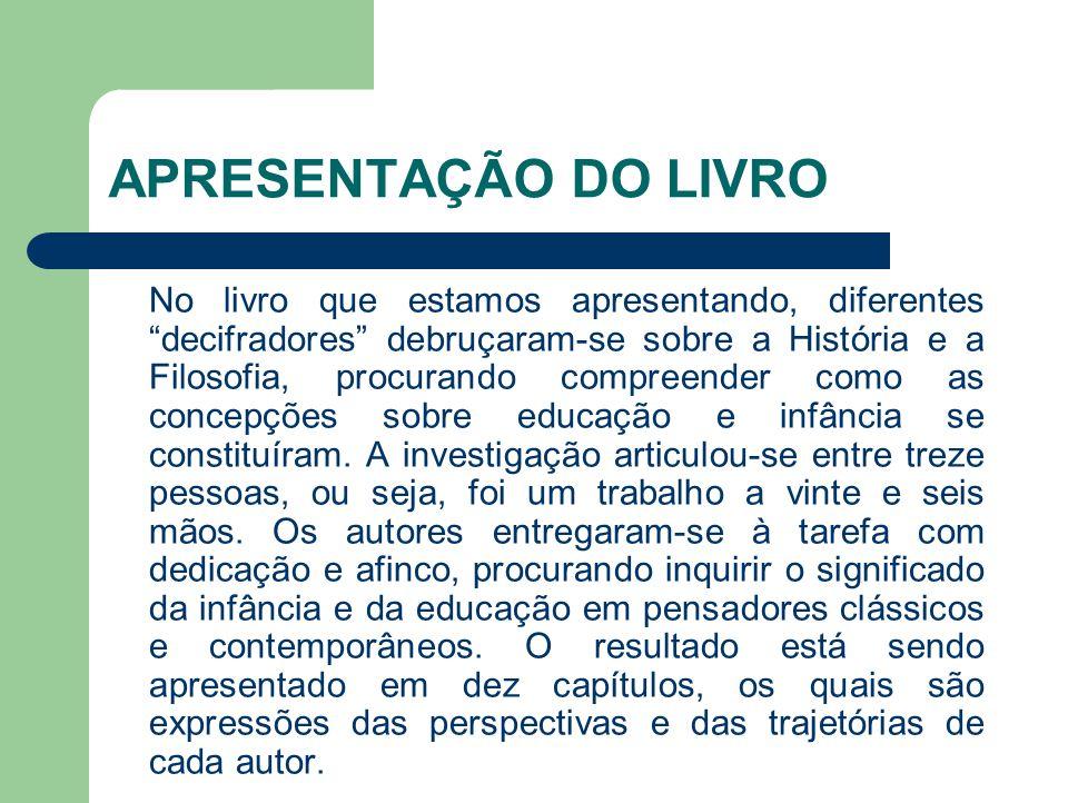 INFÂNCIA E EDUCAÇÃO NA OBRA DE COMENIUS Rita Luiz da Rocha Concebeu, assim, uma teoria humanista e espiritualista, cujo locus essencial da formação do homem era a escola.