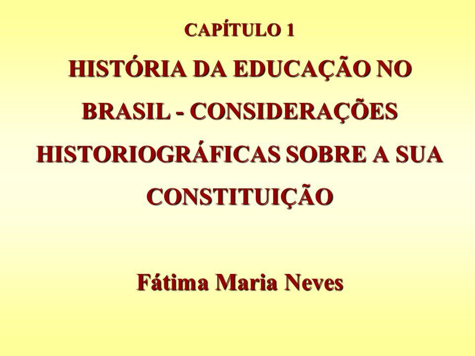 P.13: Renovação na disciplina de História da Educação; P.