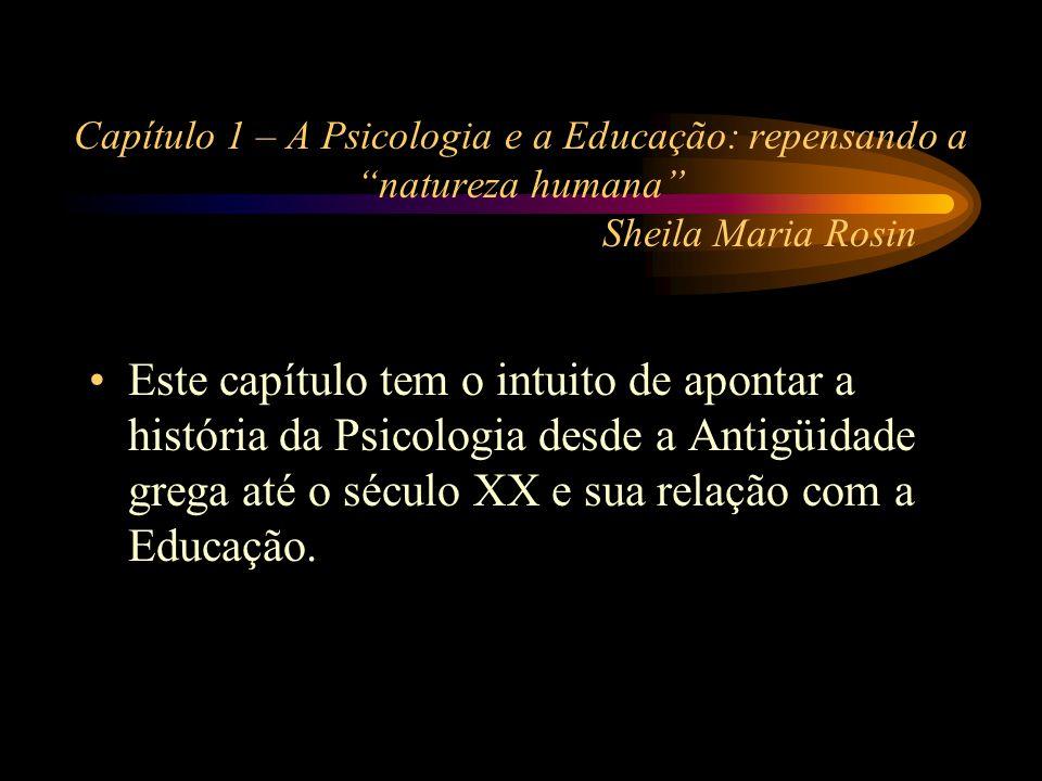 Capítulo 2 - O desenvolvimento psicomotor Carlos Roberto de Arruda Pretende demonstrar a educação do corpo como instrumento e como fator de equilíbrio geral do organismo.