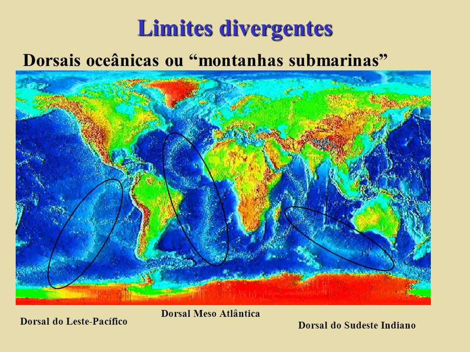 2. oceânica - oceânica Arcos de ilhas fossa Quanto maior o angulo de mergulho mais próximo será a fossa