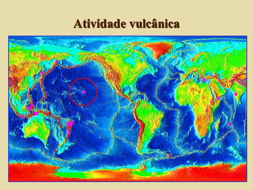 Feições geológicas e associações litológicas Colisões: