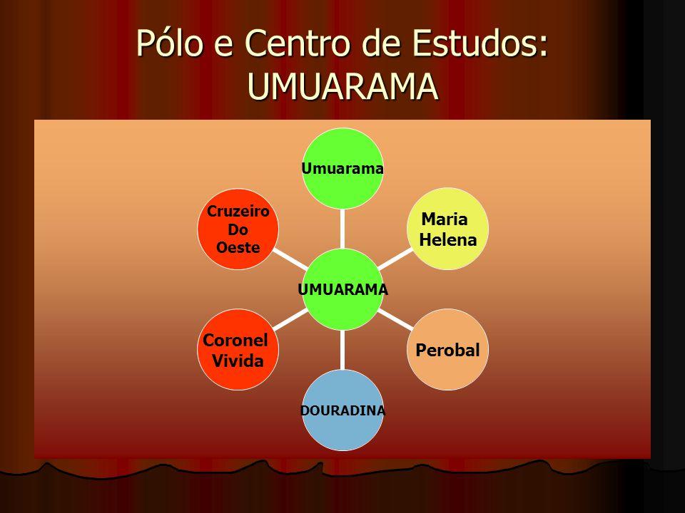 Pólo e Centro de Estudos: UMUARAMA UMUARAMA Umuarama Maria Helena PerobalDOURADINA Coronel Vivida Cruzeiro Do Oeste