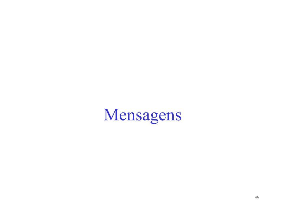 46 Mensagens