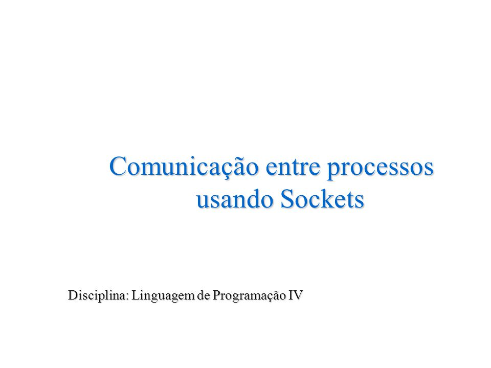 Bibliografia COMER, Douglas E.InternetWorking with TCP/IP -VOL 1.