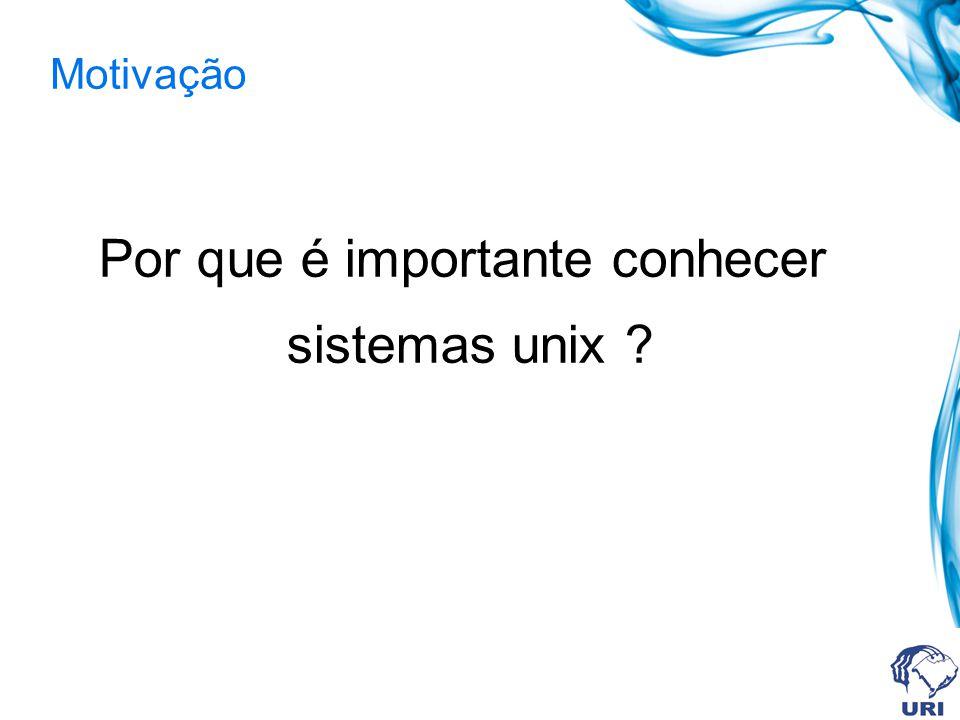 Histórico Unix As raízes do UNIX datam dos meados dos anos 60, quando a AT&T, Honeywell, GE e o MIT embarcaram em um massivo projeto para desenvolvimento de um utilitário de informação, chamado Multics (Multiplexed Information and Computing Service).