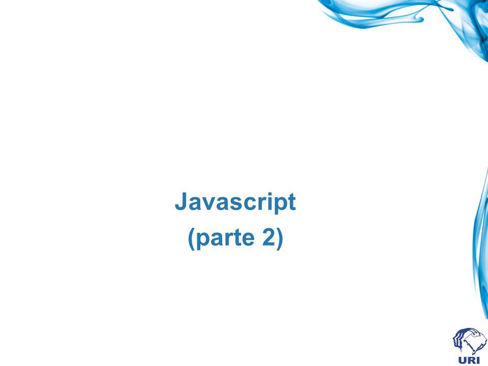 Javascript (parte 2)