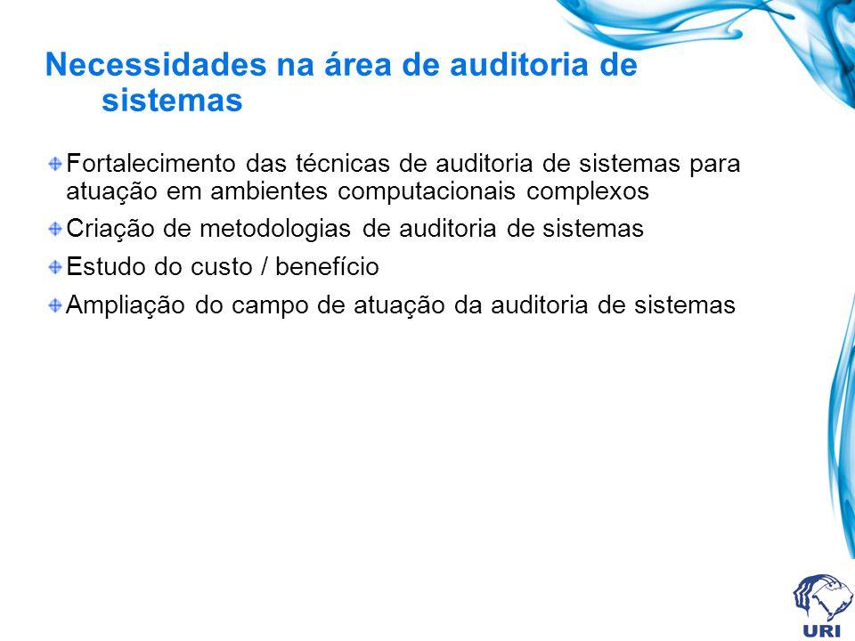 Manual da auditoria do ambiente auditado Armazena o planejamento da auditoria, os pontos de controle testados e serve como referência para futuras auditorias.