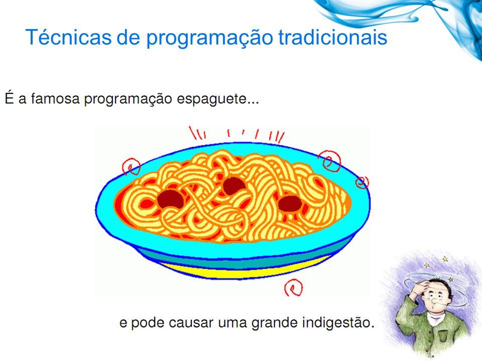 Técnicas de programação tradicionais