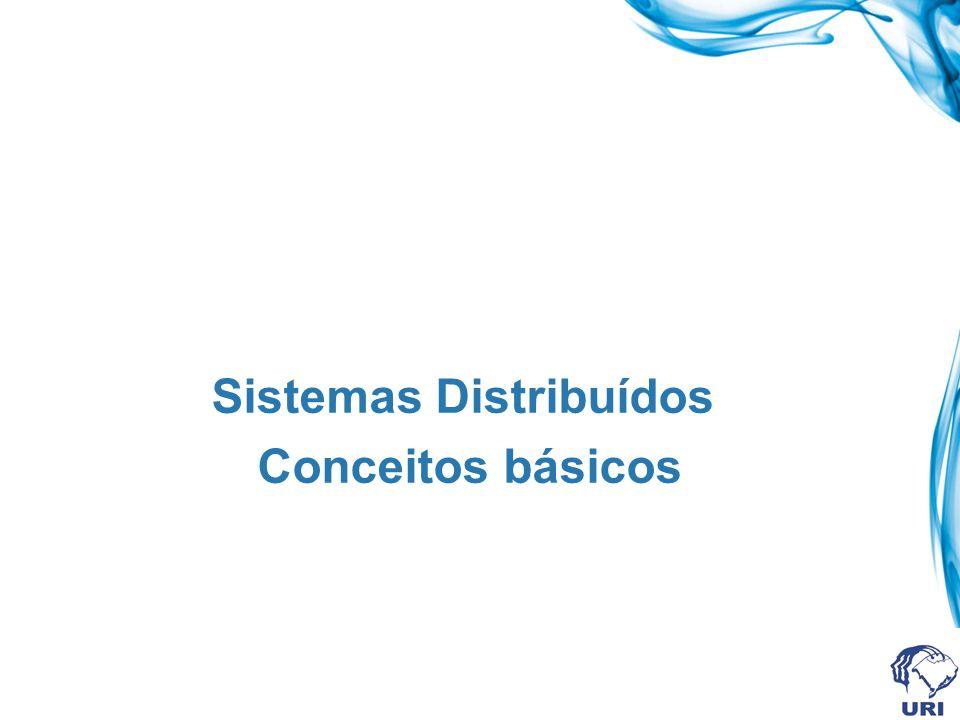 Sistemas distribuídos Necessidade de realizar tarefas com maior intensidade.