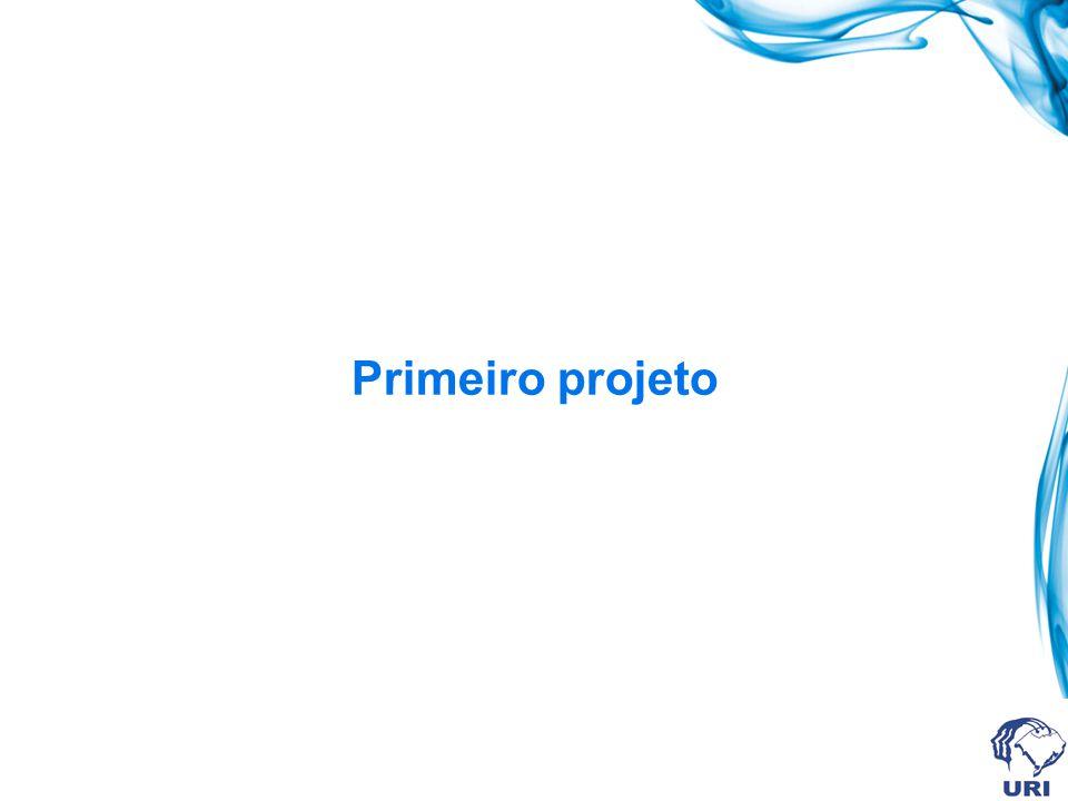 Listagem completa do programa //--------------------------------------------------------------------------- #include #pragma hdrstop #include Unit1.h //--------------------------------------------------------------------------- #pragma package(smart_init) #pragma resource *.dfm TForm1 *Form1; //--------------------------------------------------------------------------- __fastcall TForm1::TForm1(TComponent* Owner) : TForm(Owner) { } //--------------------------------------------------------------------------- void __fastcall TForm1::Button1Click(TObject *Sender) { float R; R = StrToFloat(Edit1->Text) + StrToFloat(Edit2->Text); Edit3->Text = FloatToStr(R); } //---------------------------------------------------------------------------