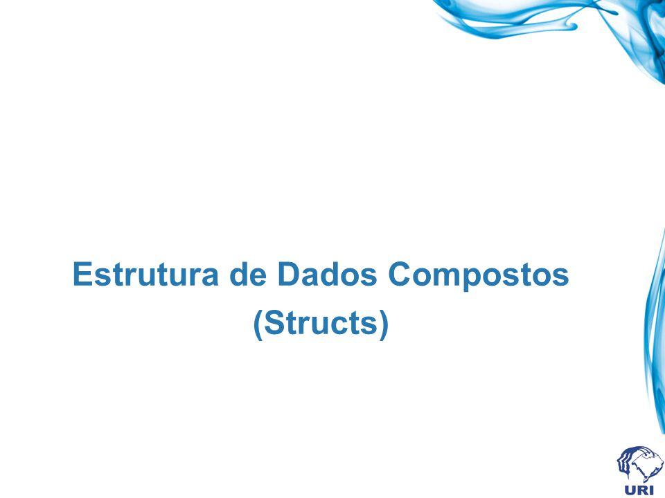 Estrutura de Dados Compostos (Structs)