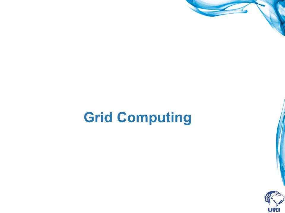 Exemplos de uso de grid ChessBrain: busca criar um supercomputador virtual capaz de jogar xadrez utilizando a capacidade ociosa de milhares de máquinas.