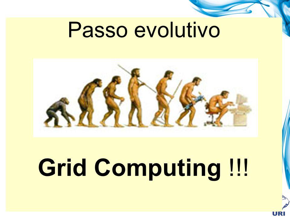 Exemplos de uso de grid Exemplos de grid de alto desempenho (continuação) DataGrid: projeto europeu que visa proporcionar computação de alto desempenho para pesquisadores europeus tanto acadêmicos quanto da indústria.