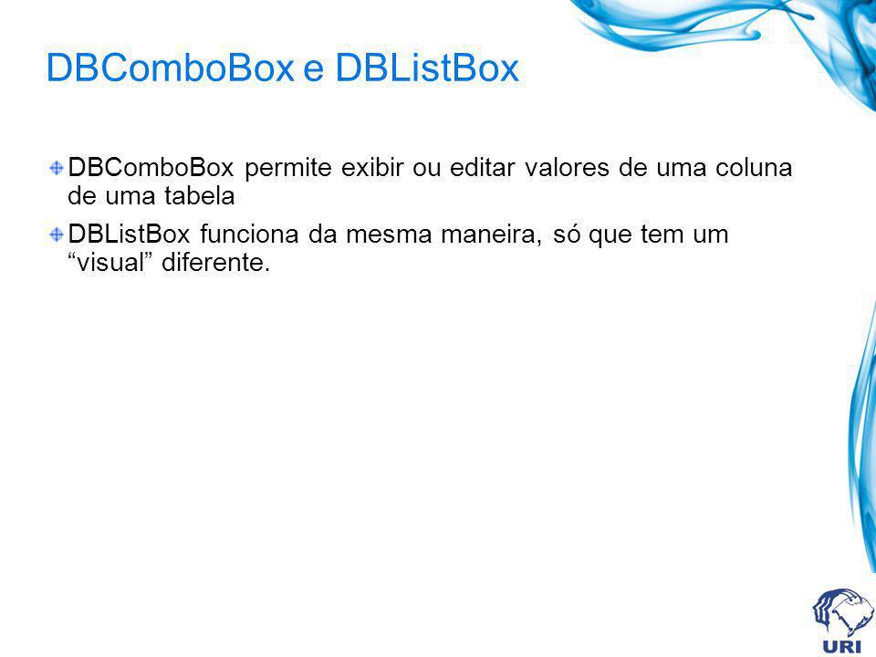 DBMemo Permite exibir ou editar blobs de um registro ativo