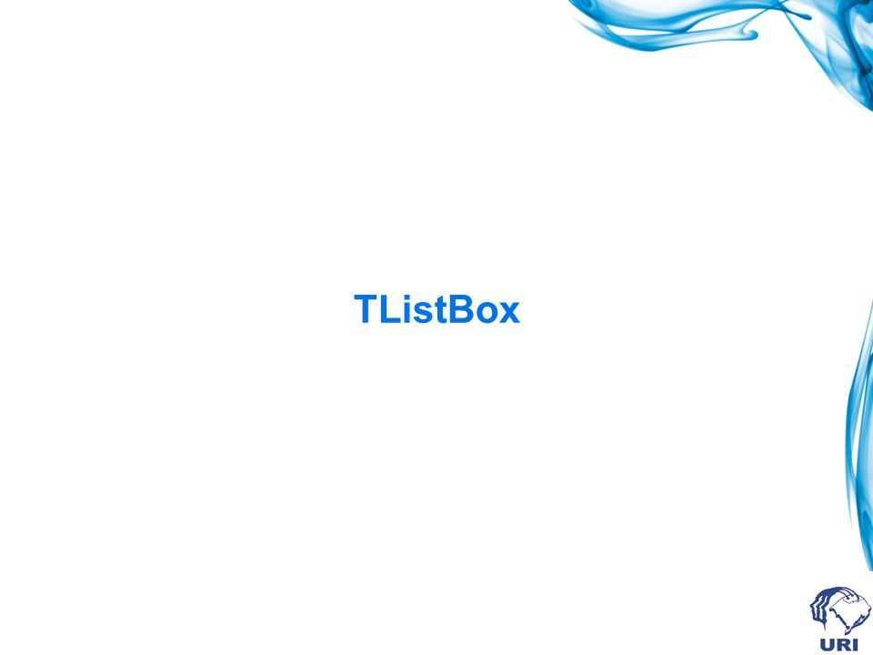TListBox