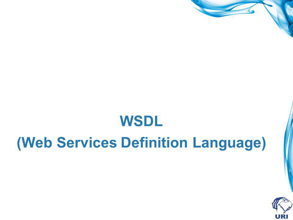 WSDL (Web Services Definition Language)