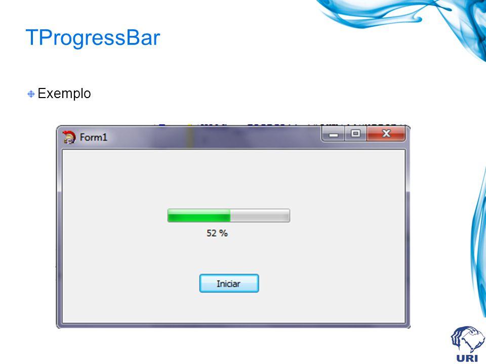 TProgressBar Exemplo