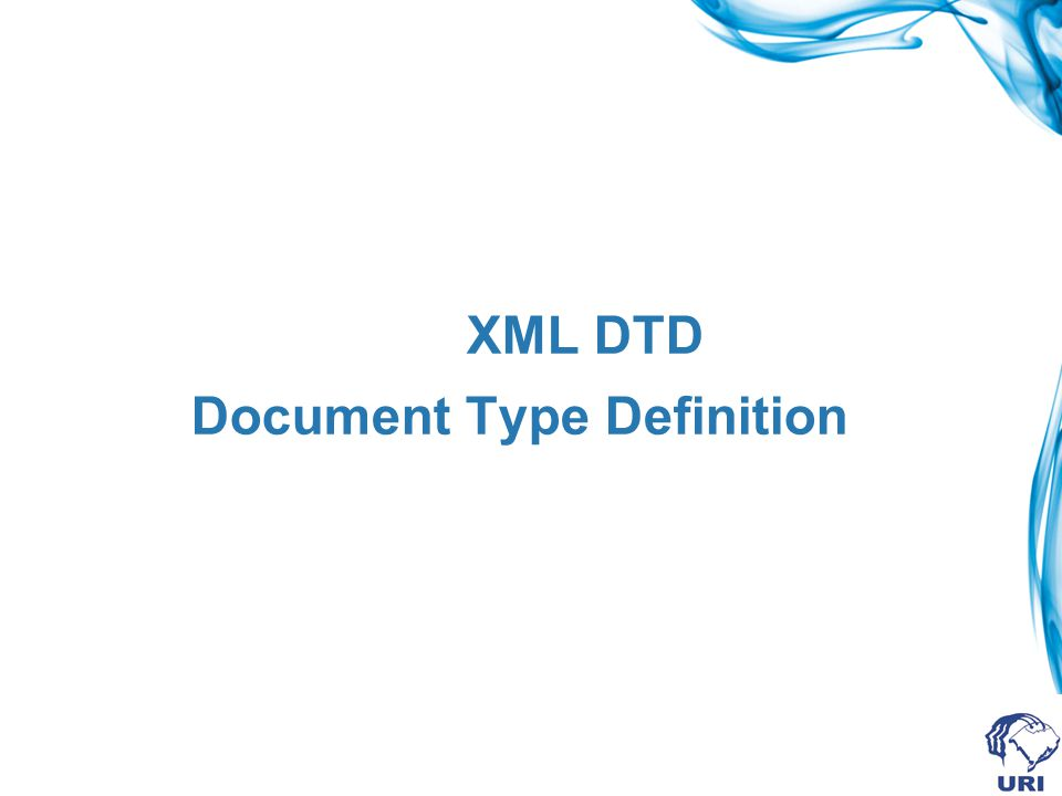 XML DTD Document Type Definition