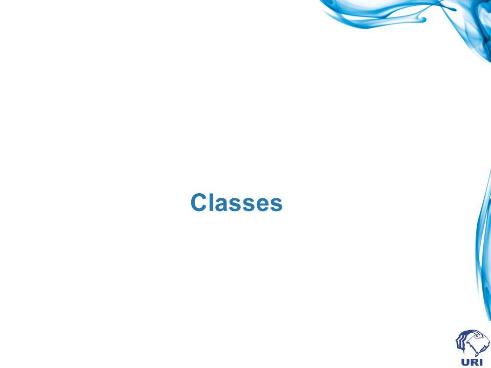 Classe No mundo real freqüentemente percebemos vários objetos de um mesmo tipo.