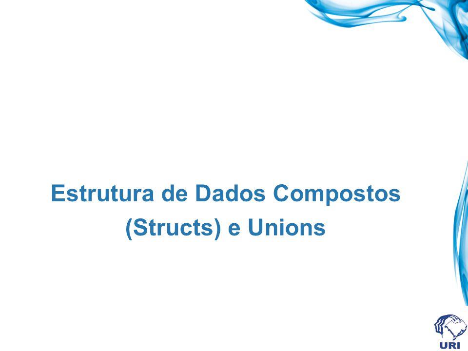Estrutura de Dados Compostos (Structs) e Unions