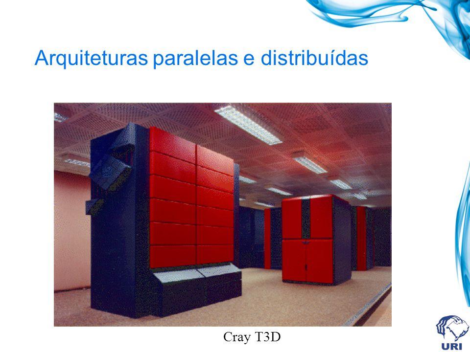 Arquiteturas paralelas e distribuídas Cray T3D