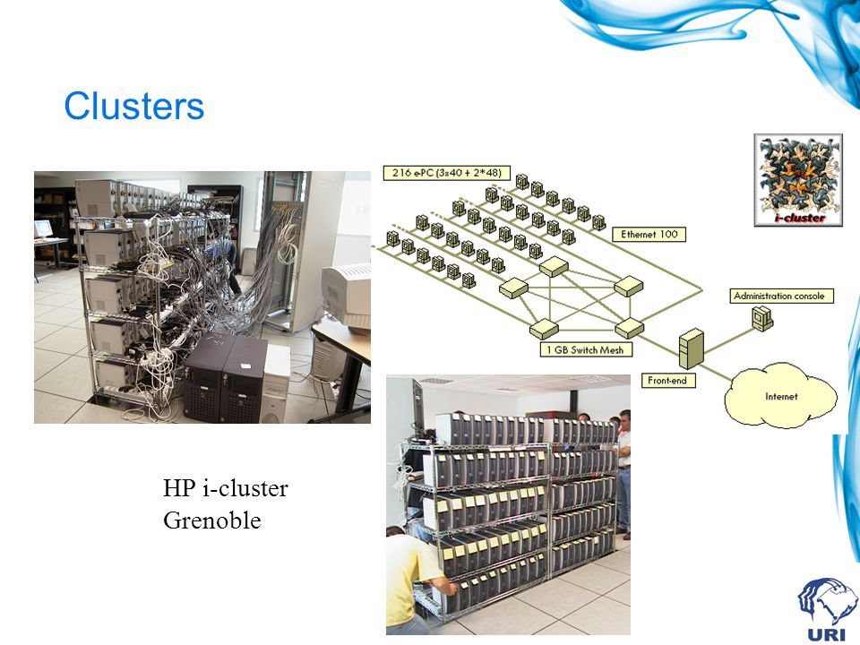 Clusters HP i-cluster Grenoble