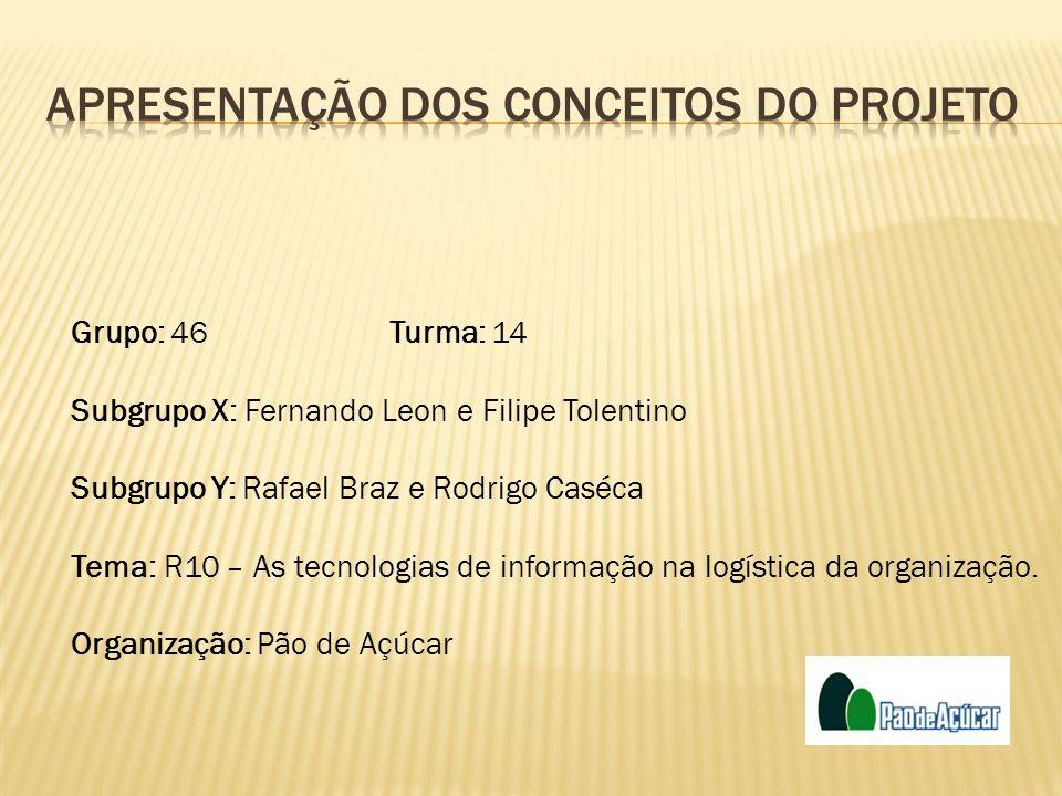 Grupo: 46Turma: 14 Subgrupo X: Fernando Leon e Filipe Tolentino Subgrupo Y: Rafael Braz e Rodrigo Caséca Tema: R10 – As tecnologias de informação na l